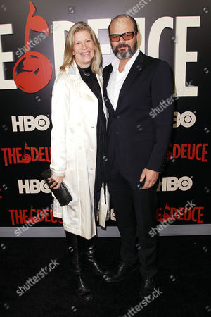 Chris Bauer with Wife