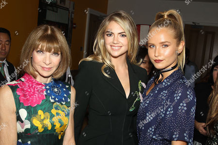 Anna Wintour, Kate Upton, Sailor Brinkley-Cook