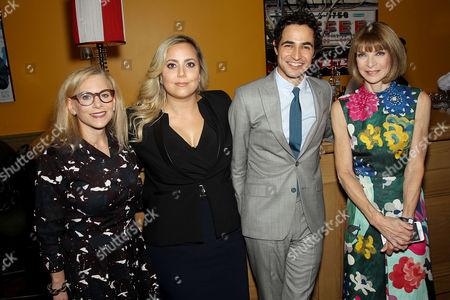 Dawn Ostroff (Pres. Conde Nast Entertainment: Condé Nast Ent.), Sandy Chronopoulos (Director), Zac Posen, Anna Wintour