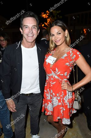 Goloka Bolte, Jeff Probst. Jeff Probst, left, and Goloka Bolte, Emmy nominee for Outstanding Casting For A Reality Program for 'RuPaul's Drag Race' at The Television Academy's Casting Directors Nominee Reception at The Montage Beverly Hills, in Beverly Hills, Calif