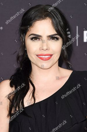 "Stock Image of Yarel Ramos attends the 2017 PaleyFest Fall TV Previews ""El Chapo"" at The Paley Center for Media, in Beverly Hills, Calif"