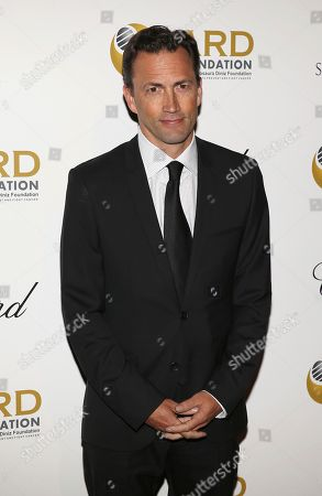 Actor Andrew Shue attends The Alcides and Rosaura Diniz (ARD) Foundation's fundraising gala to benefit the Memorial Sloan Kettering Cancer Center at Cipriani 42nd Street, in New York