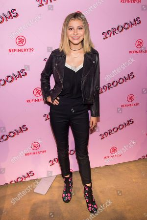 "Actress G Hannelius attends Refinery29's Third Annual ""29Rooms: Turn It Into Art"", in New York"