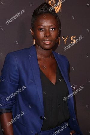 Stock Photo of Laurence Basse arrives at the Celebration of the 69th Emmy Award Nominees for Outstanding Casting, in Beverly Hills, Calif