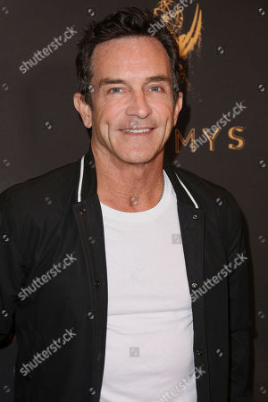 Stock Photo of Jeff Probst arrives at the Celebration of the 69th Emmy Award Nominees for Outstanding Casting, in Beverly Hills, Calif