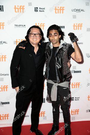 Stock Photo of Joseph Kahn, Adi Shankar. Joseph Kahn, left, and Adi Shankar