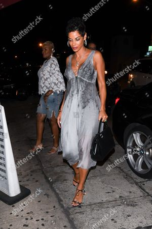 Editorial picture of Nicole Murphy out and about, Los Angeles, USA - 08 Sep 2017