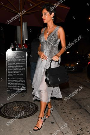 Editorial image of Nicole Murphy out and about, Los Angeles, USA - 08 Sep 2017