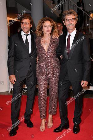 Adriano Giannini, Valeria Golino, the director Silvio Soldini