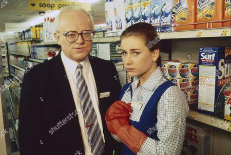 Stock Picture of Ken Morley (as Reg Holdsworth), Imogen Boorman (as Vanessa Morgan)
