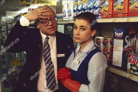 Stock Image of Ken Morley (as Reg Holdsworth), Imogen Boorman (as Vanessa Morgan)