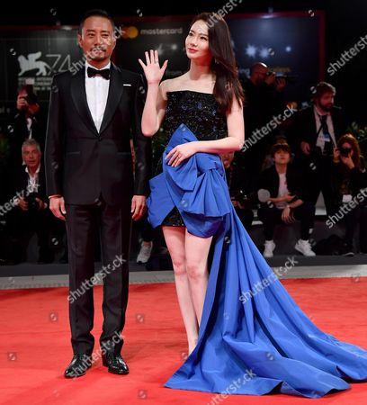 Qi Wei and Zhang Hanyu