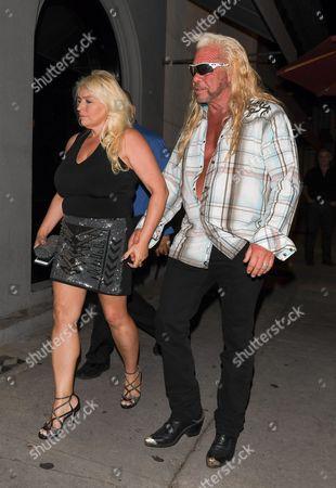 Beth Chapman and Duane Chapman at Craig's Restaurant