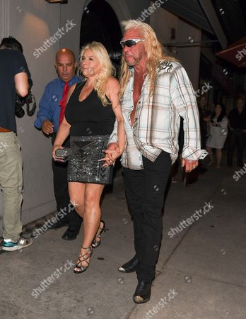 Beth Chapman and Duane Chapman at Craig's Restaurant