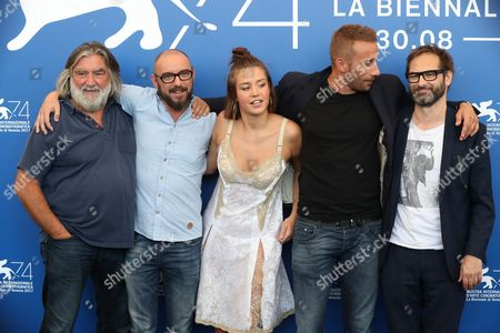 Editorial photo of 'Racer And The Jailbird' photocall, 74th Venice Film Festival, Italy - 08 Sep 2017