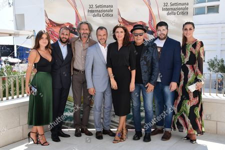 Editorial picture of 'Veleno' photocall, 74th Venice Film Festival, Italy - 08 Sep 2017