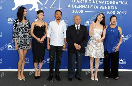 John Woo, Zhang Hanyu, Ha Ji-won, Qi Wei, Angeles Woo, Okamoto Tao
