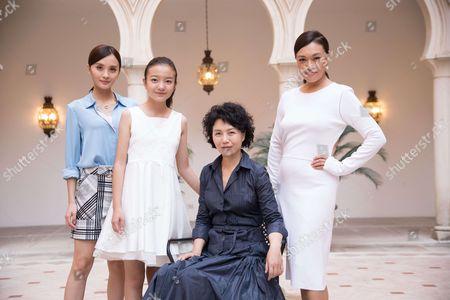 Vivian Qu, Shi Ke, Peng Jing and Zhou Meijun