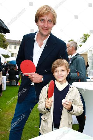 Lars Kraume mit Sohn