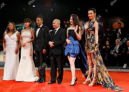 Editorial photo of Italy Film Festival Manhunt Red Carpet, Venice, Italy - 08 Sep 2017