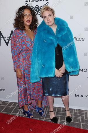Jennifer Konner and Lena Dunham