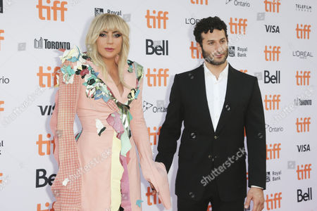 Lady Gaga and Chris Moukarbel
