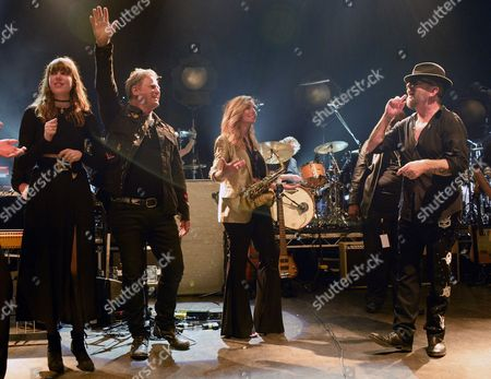 Diane Birch, Jon Stevens, Candy Dulfer and Dave Stewart