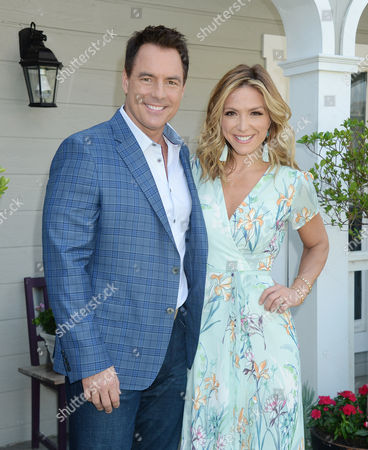 Mark Steines and Debbie Matenopoulos
