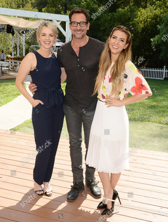 Ali Fedotowsky, Lawrence Zarian and Orly Shani