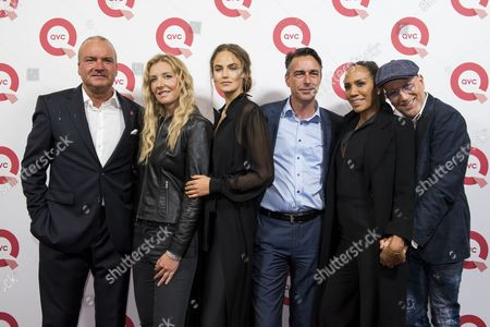 Mathias Bork, Jette Joop, Elena Carrière, Ronald Käding, Barbara Becker and Thomas Rath