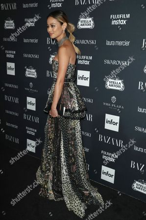 Editorial picture of Harper's Bazaar ICONS party, New York Fashion Week, USA - 08 Sep 2017