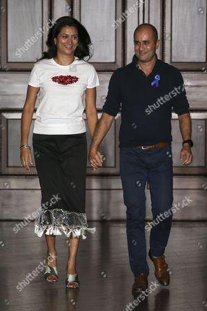 Editorial photo of Sachin & Babi show, Runway, Spring Summer 2018, New York Fashion Week, USA - 07 Sep 2017