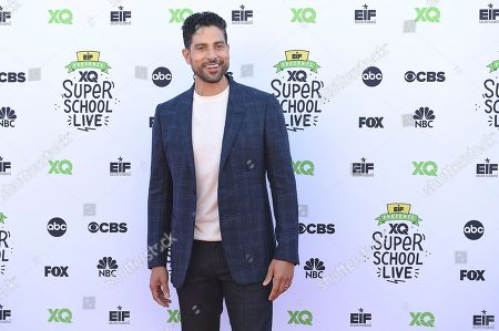 Adam Rodriguez arrives at the EIF Presents: XQ Super School Live on in Santa Monica, Calif