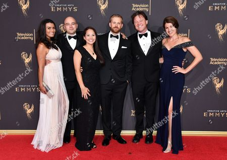Allie Estrada, Nicholas Veneroso, Terra Meyer, Mickey Meyer, Daniel Kellison and Dyan Kellison