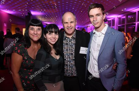 Elizabeth Federici, Cristiana Lombardo, Michael Kantor, Joe Skinner. Elizabeth Federici, Cristiana Lombardo, Michael Kantor and Joe Skinner attend the 2017 Documentary/Reality Programming Nominee Reception at the Television Academy Wolf Theatre and Saban Media Center, in North Hollywood, Calif