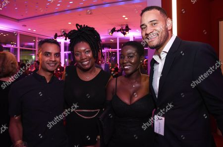 Swaga Deb, Pearl Boakye, Ama Atiedu, Erik Parker. Swaga Deb, Pearl Boakye, Ama Atiedu and Erik Parker attend the 2017 Documentary/Reality Programming Nominee Reception at the Television Academy Wolf Theatre and Saban Media Center, in North Hollywood, Calif