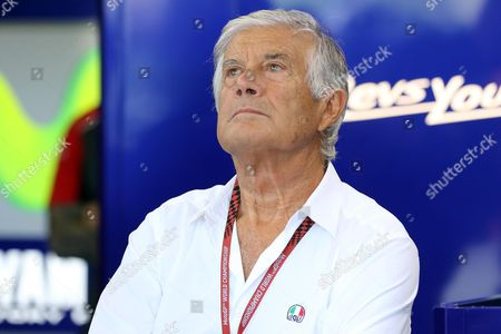 Italian former motorcycle road racer  Giacomo Agostini during a free practice session of the motorcycling Grand Prix of San Marino and Riviera of Rimini at Misano circuit, in Misano Adriatico, Italy, 09 September 2017.