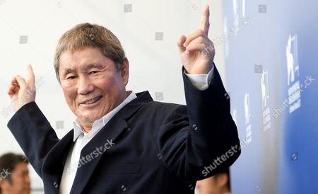 Stock Photo of Takeshi Kitano