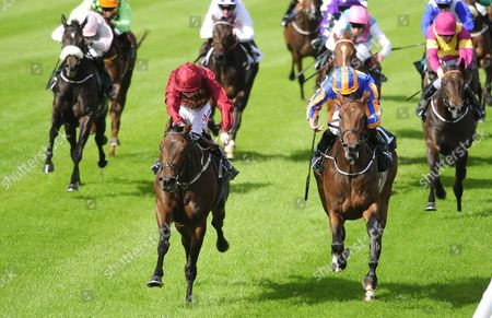 LEOPARDSTOWN. LIGHTENING QUICK and Colin Keane (left) beats BYE BYE BABY (Ryan Moore) for trainer Ger Lyons.