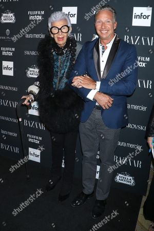 Iris Apfel and guest