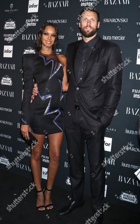 Editorial image of Harper's Bazaar ICONS party, Spring Summer 2018, New York Fashion Week, USA - 08 Sep 2017