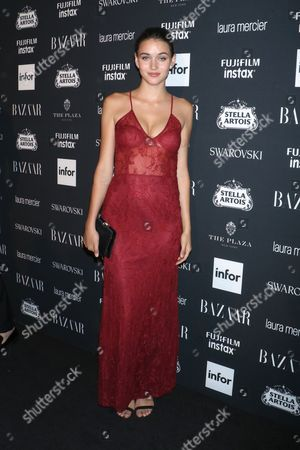 Editorial photo of Harper's Bazaar ICONS party, Spring Summer 2018, New York Fashion Week, USA - 08 Sep 2017