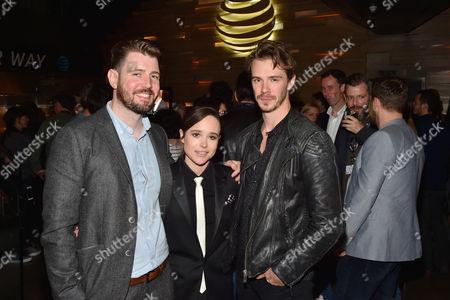 David Freyne, Ellen Page and Sam Keeley
