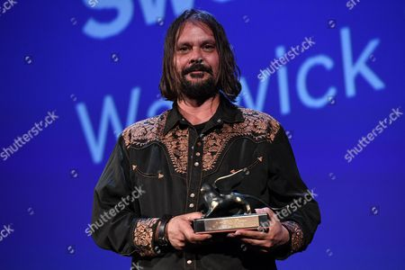 Director Warwick Thornton, Silver Lion for Sweet Country