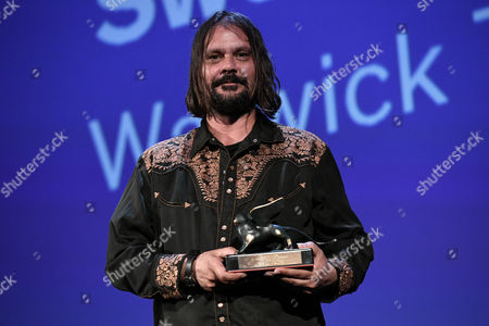 Director Warwick Thornton receives the Special Jury Prize for the movie Sweet Country