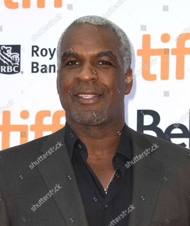 """Charles Oakley attends a premiere for """"The Carter Effect"""" on day 3 of the Toronto International Film Festival at the Princess of Wales Theatre, in Toronto"""