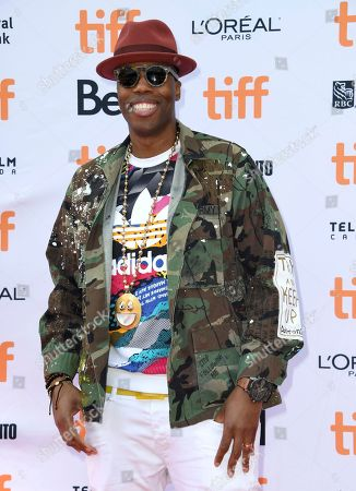 "Canadian rapper Kardinal Offishall attends a premiere for ""The Carter Effect"" on day 3 of the Toronto International Film Festival at the Princess of Wales Theatre, in Toronto"