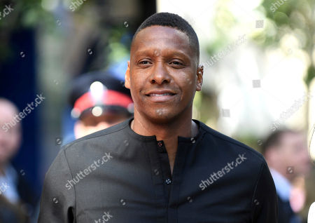 """Toronto Raptors President Masai Ujiri attends a premiere for """"The Carter Effect"""" on day 3 of the Toronto International Film Festival at the Princess of Wales Theatre, in Toronto"""