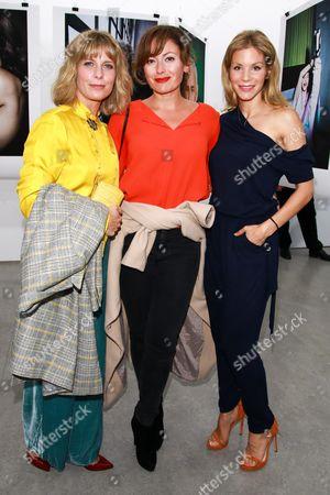 Valerie Niehaus, Carolina Vera and Nina Friederike Gnaedig