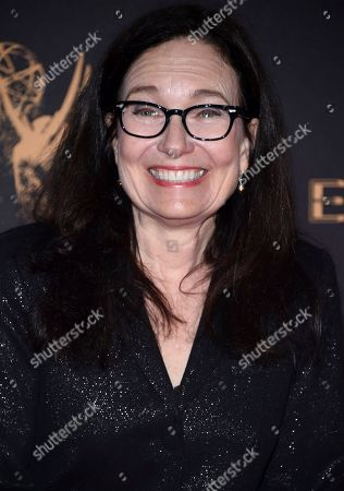 Sally Jo Fifer arrives at night one of the Television Academy's 2017 Creative Arts Emmy Awards at the Microsoft Theater, in Los Angeles